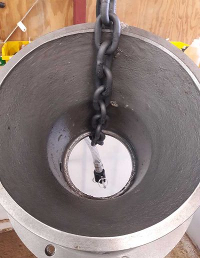 Vacuum Pump Cone After Descale 518