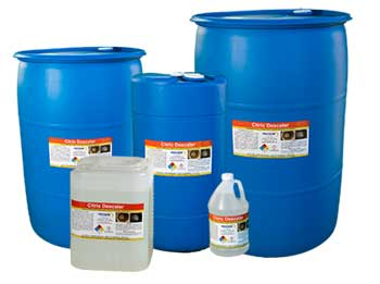Citric Descaler is the safest and most effective Descaler on the market that is safe on most metals