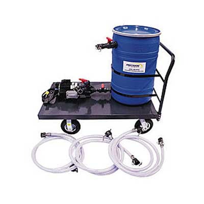 descaler pump cart