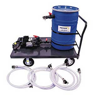 descaler pump cart